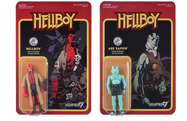 Super7 trasforma i personaggi di Hellboy in reAction figures retrò