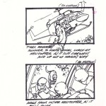jurassic park helicopter storyboard 8