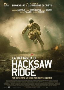 locandina Poster La battaglia di Hacksaw Ridge