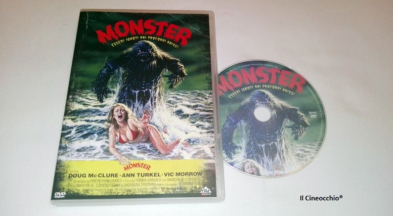 [recensione DVD] Monster - Esseri Ignoti Dai Profondi Abissi di Barbara Peeters