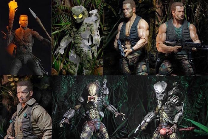 30th Anniversary 'Predator' Action Figure Collection 3