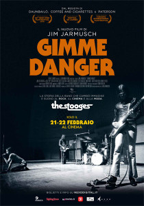 Jim Jarmush gimme danger locandina