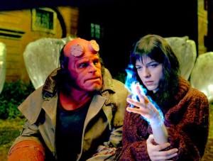 Selma Blair Hellboy di Guillermo del Toro