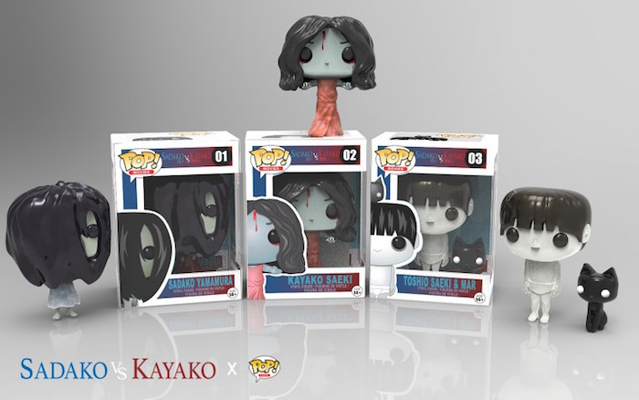 Un'artista giapponese realizza le Funko POP! fan-made di Sadako vs Kayako
