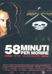 58 minuti per morire poster