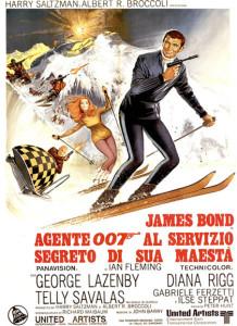 Agente 007 - Al servizio segreto di Sua Maestà poster