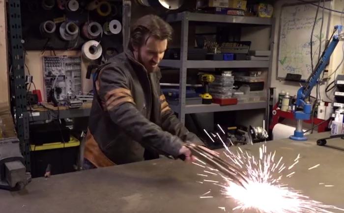 Creati gli artigli elettrificati di Wolverine
