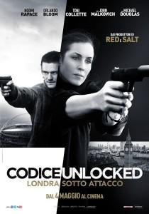 Codice Unlocked Poster film