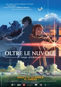 OLTRE LE NUVOLE, IL LUOGO PROMESSOCI poster