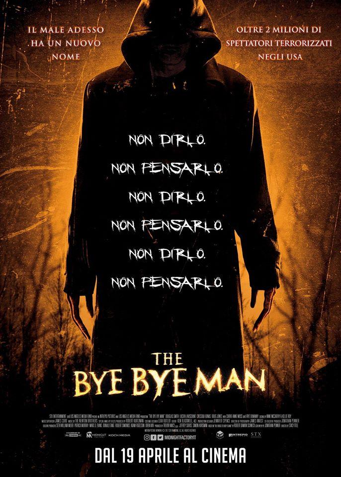 bye bye man poster