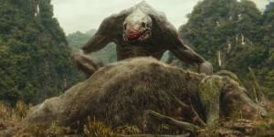 kong skull island mostri