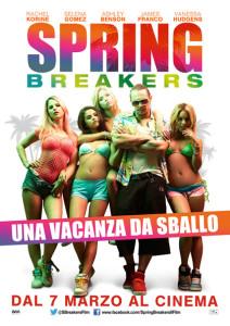locandina spring breakers