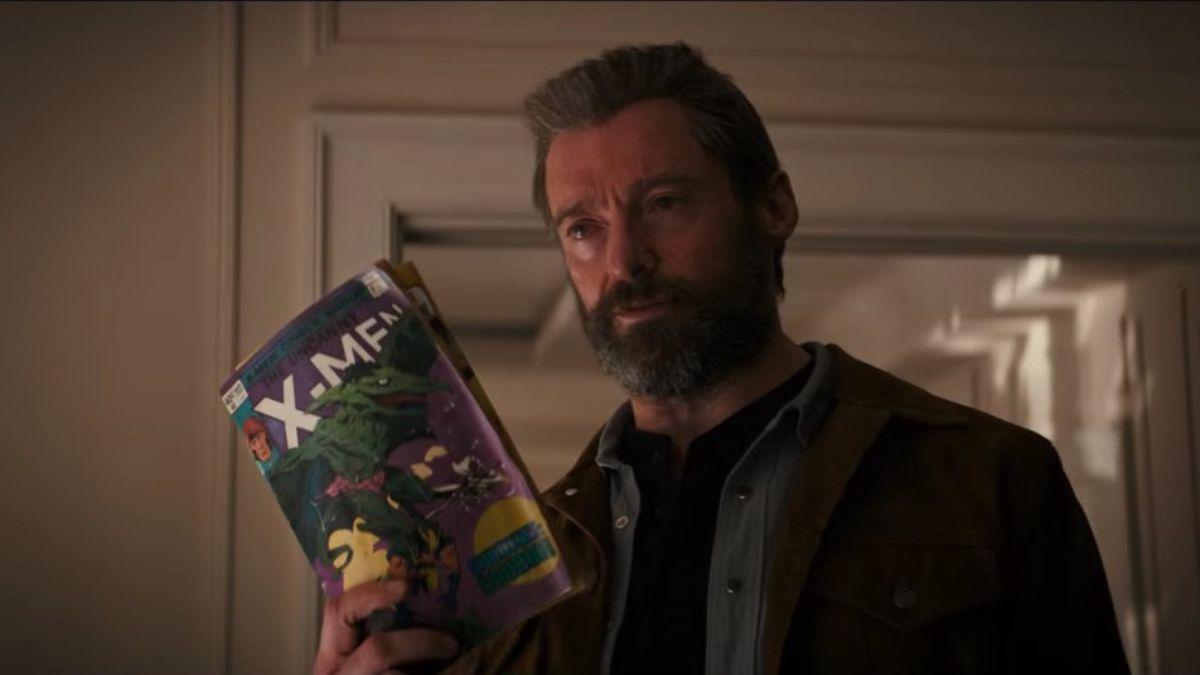 Logan: sguardo ravvicinato a 4 pagine del fumetto degli X-Men letto da Wolverine nel film