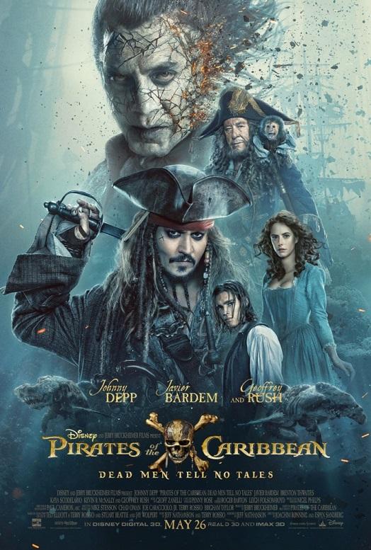 pirati dei caraibi salazar poster