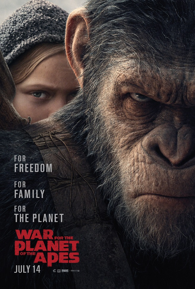war pianeta scimmie poster