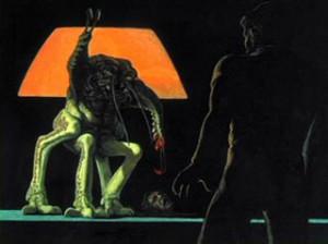 Ron Cobb alien (2)