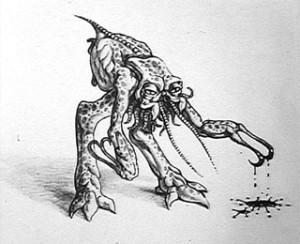 Ron Cobb alien