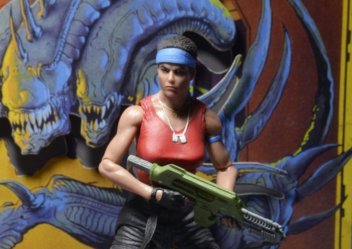L'action figure vintage dell'agguerrita Vasquez celebra l'Alien Day al meglio