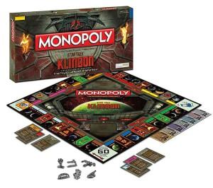 monopoly klingon set