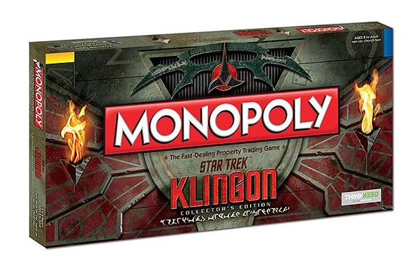 Conquistate la galassia con il Monopoly Klingon di Star Trek