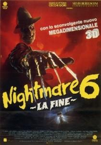 nightmare 6 fine poster