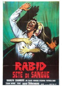 rabid sete di sangue poster