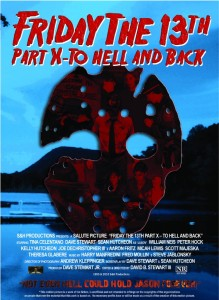 Friday the 13th Part X - To Hell and Back poster