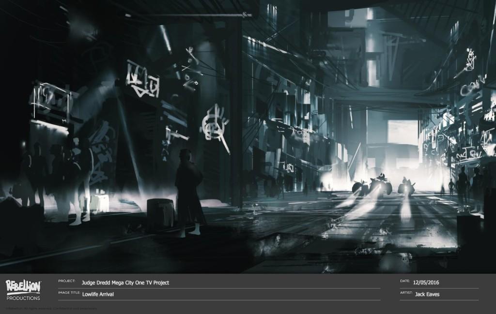 Judge Dredd Mega City One concept art 2