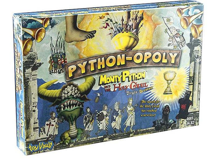 A caccia del Sacro Graal col Monopoly dei Monty Python