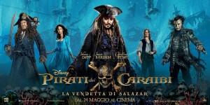 Pirati dei Caraibi - La vendetta di Salazar poster
