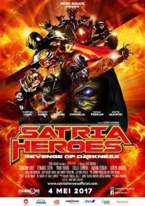 Satria Heroes-poster