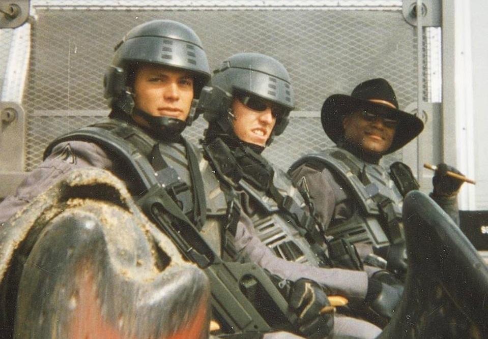Casper Van Dien pubblica 10 foto inedite di Starship Troopers