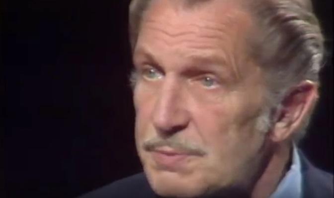 Un mini documentario esplora la terrorizzante carriera di Vincent Price