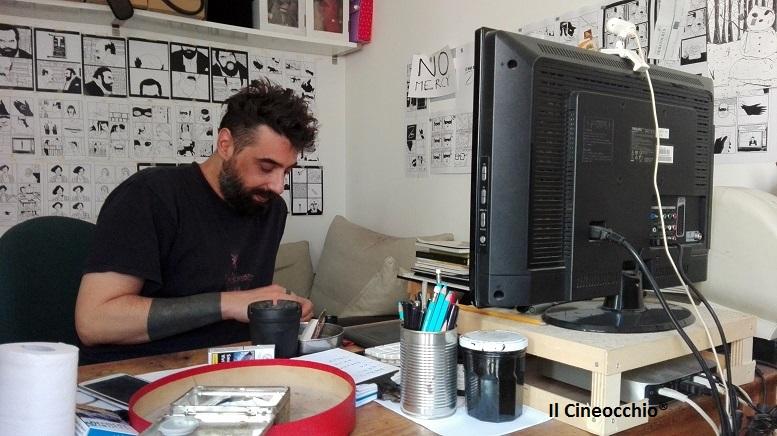 [esclusivo] Intervista a Gabriele 'AkaB' Di Benedetto, i dolori di un fumettista che ha voglia di cinema