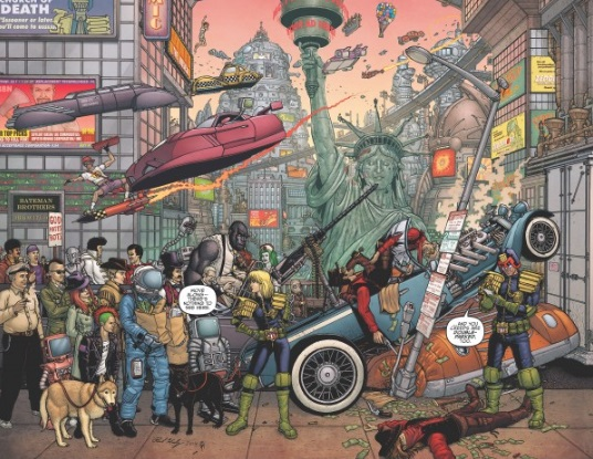 Poster ufficiale e trama per la serie Judge Dredd: Mega-City One