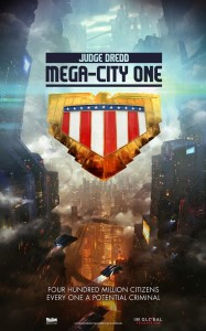 judge dredd mega city one poster