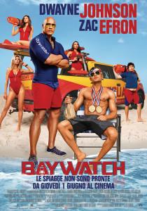 locandina baywatch film