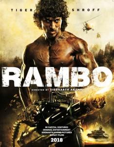 rambo Tiger Shroff india poster