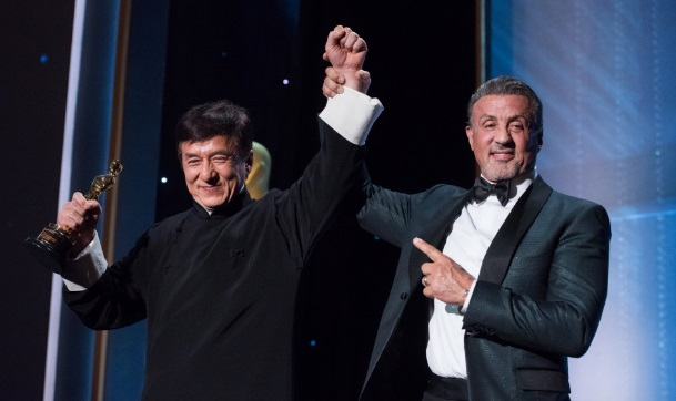 stallone jackie chan