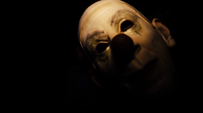 Behind the Sightings film clown