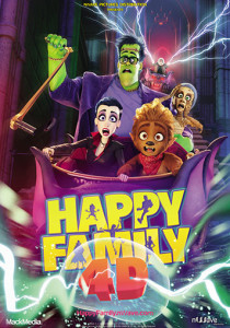 Happy Family 4D poster