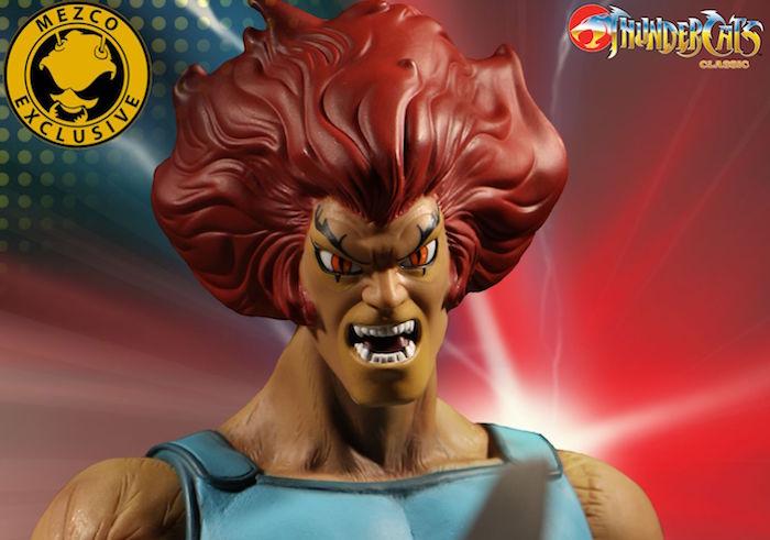 Lion-O dei Thundercats torna a ruggire per l'action figure della Mezco Toyz