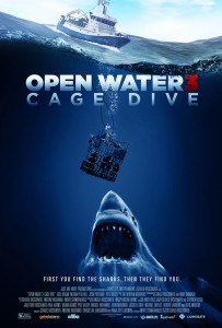 OPEN WATER 3 CAGE DIVE poster