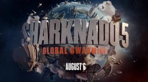 Sharknado 5 Global Warming poster