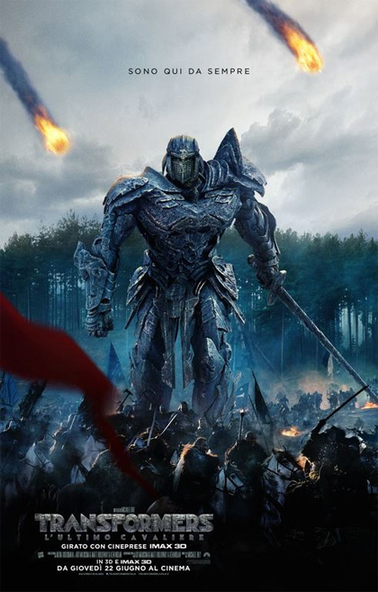 TRANSFORMERS - L'ULTIMO CAVALIERE poster