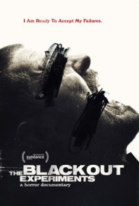 The Blackout Experiment di Rich Fox poster