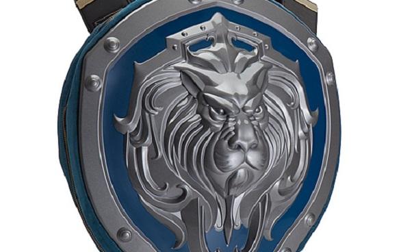 Il Leone di Azeroth vi guarderà le spalle con lo zaino Warcraft Alliance Shield