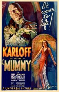 mummia locandina 1932