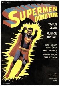 supermen donuyor Kunt Tulgar