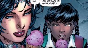 wonder woman gelato
